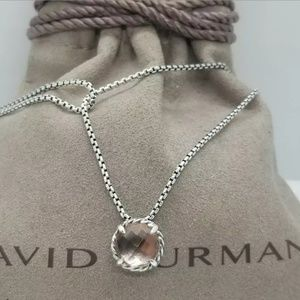 David Yurman Chatelaine Pendant Necklace